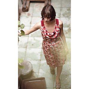 Moulinette Soeurs Silk Polka Dot Dress Size 4
